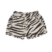 Maed for mini Smiling Zebra Shorts