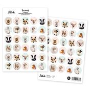 Henna Adel Stickers - Animals