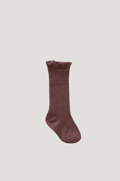 Jamie Kay Frill Socks - Antique Rose